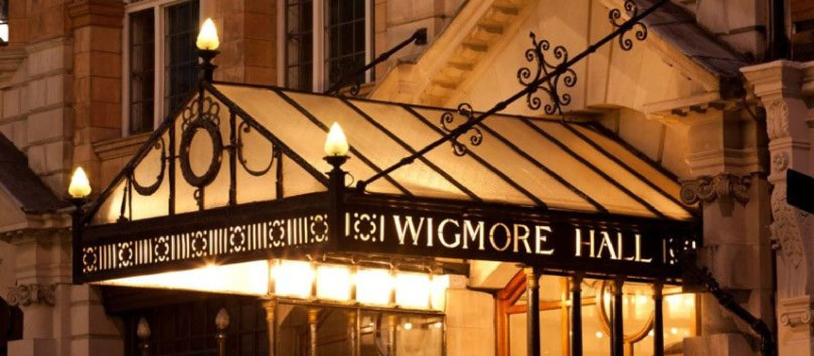 Entrance to Wigmore Hall