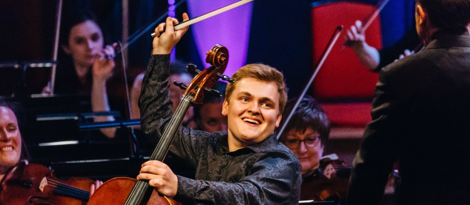 Maxim Calver, Cello - 2018 finalist
