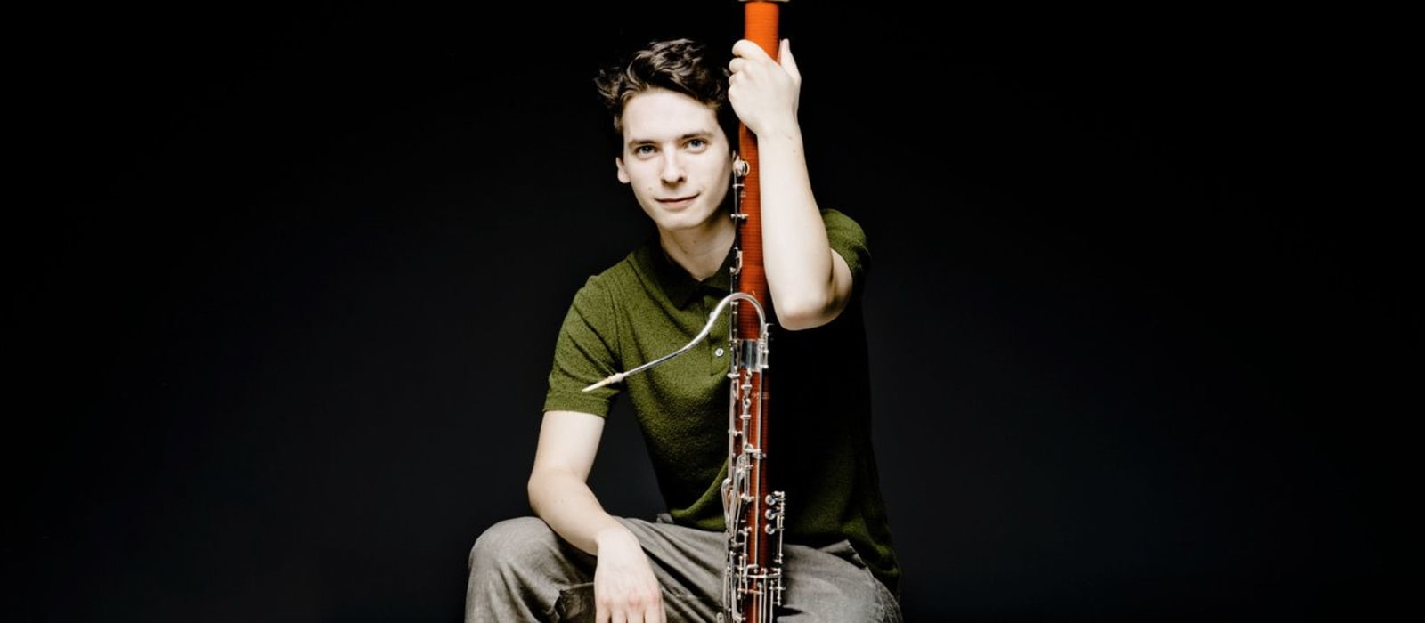 Image of Theo Plath with bassoon