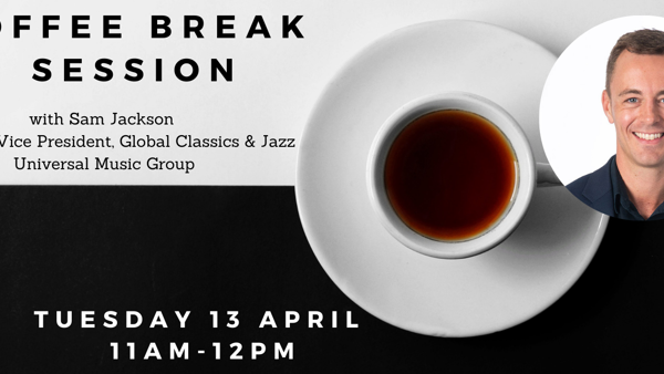 Coffee Break session with Sam Jackson (Universal Music)